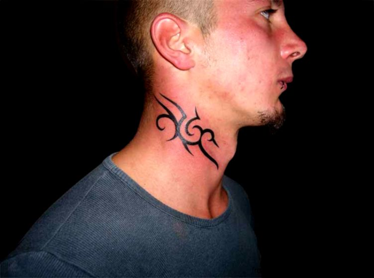 36 Awesome Neck Tattoos to