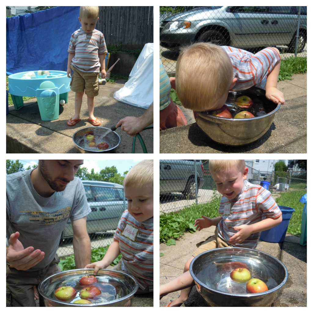 Messy Kitchen Cleaning Games: Play: Messy Apple Play + Book Activity