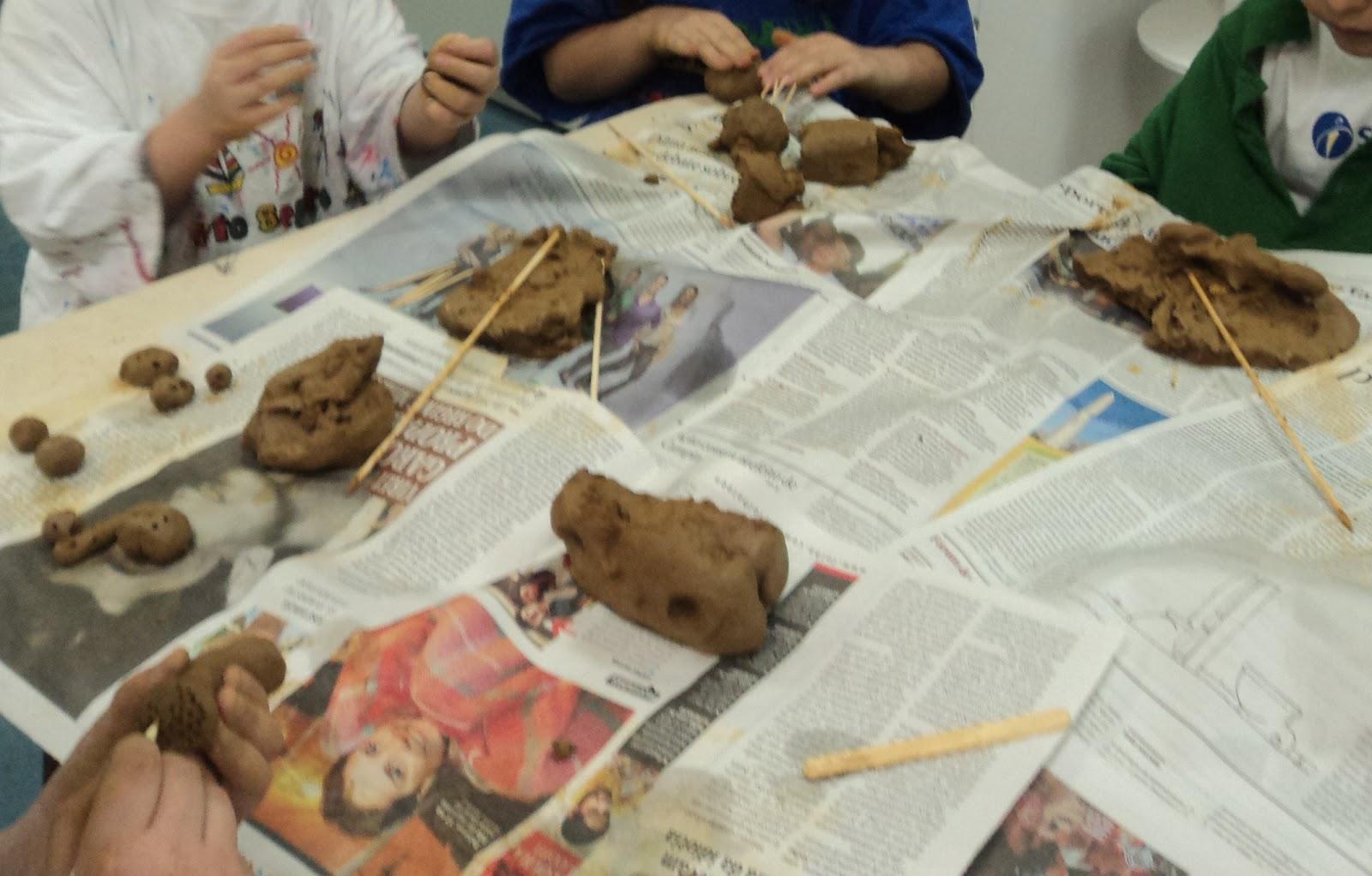 Artesanato Maceio File ~ Cultura Infantil arte, história e brincadeira QUE TAL ARGILA?