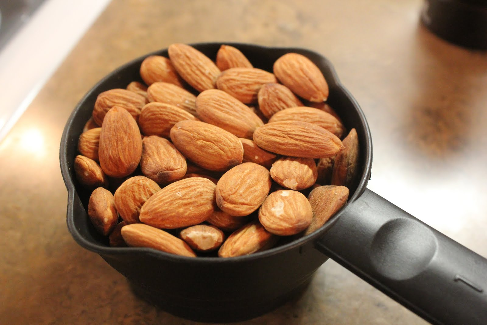 Near to Nothing: Candied Almonds Almonds