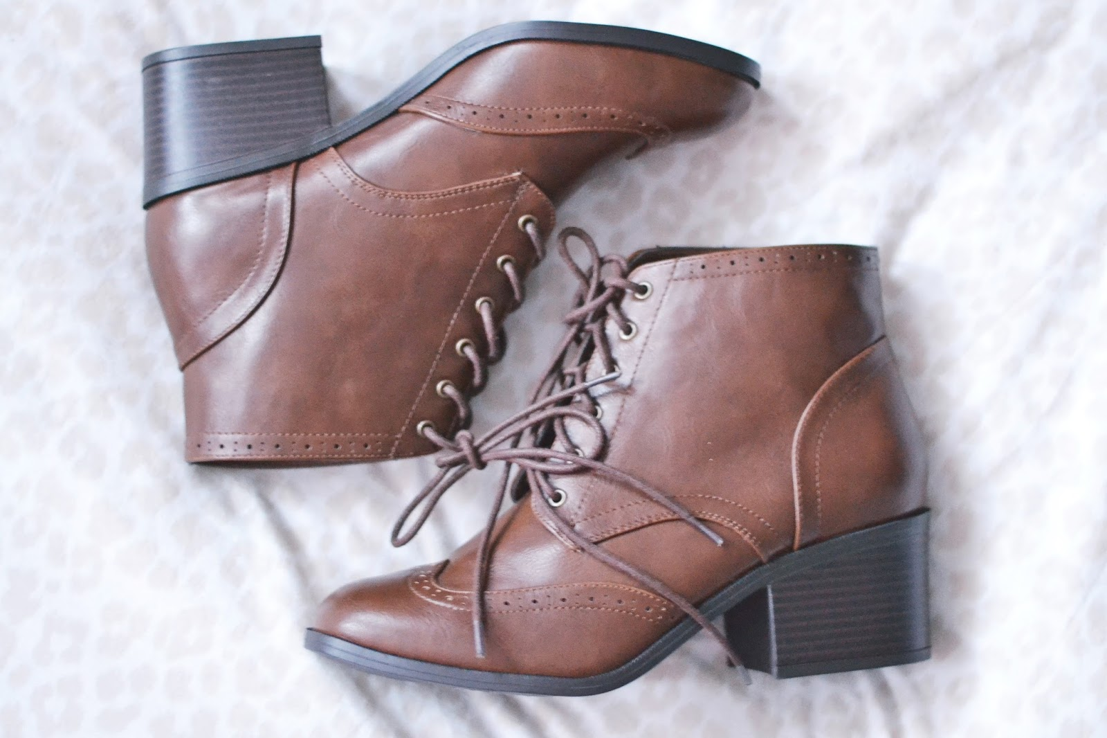 new look tan block heel boots