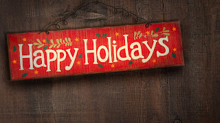 Free Download Happy Holidays Sign Wallpaper