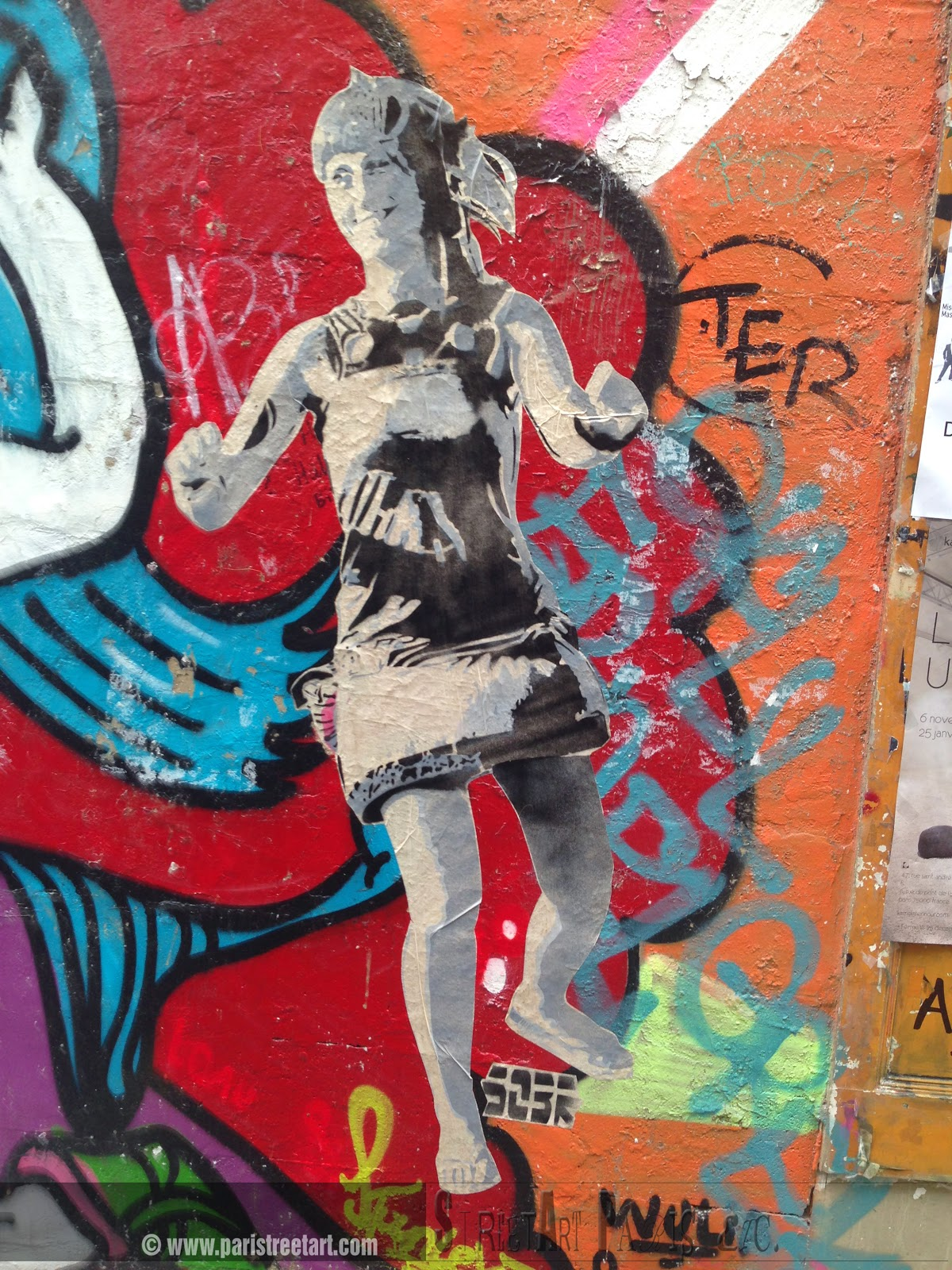 Exceptionnel Street Art Paris etc.: IT'S TIME to DANCE! project by SOBR CE96