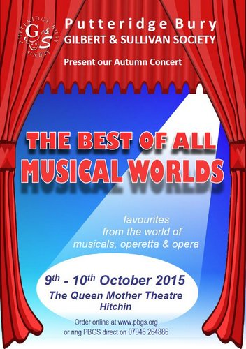 9-10 October 2015: THE BEST OF ALL MUSICAL WORLDS