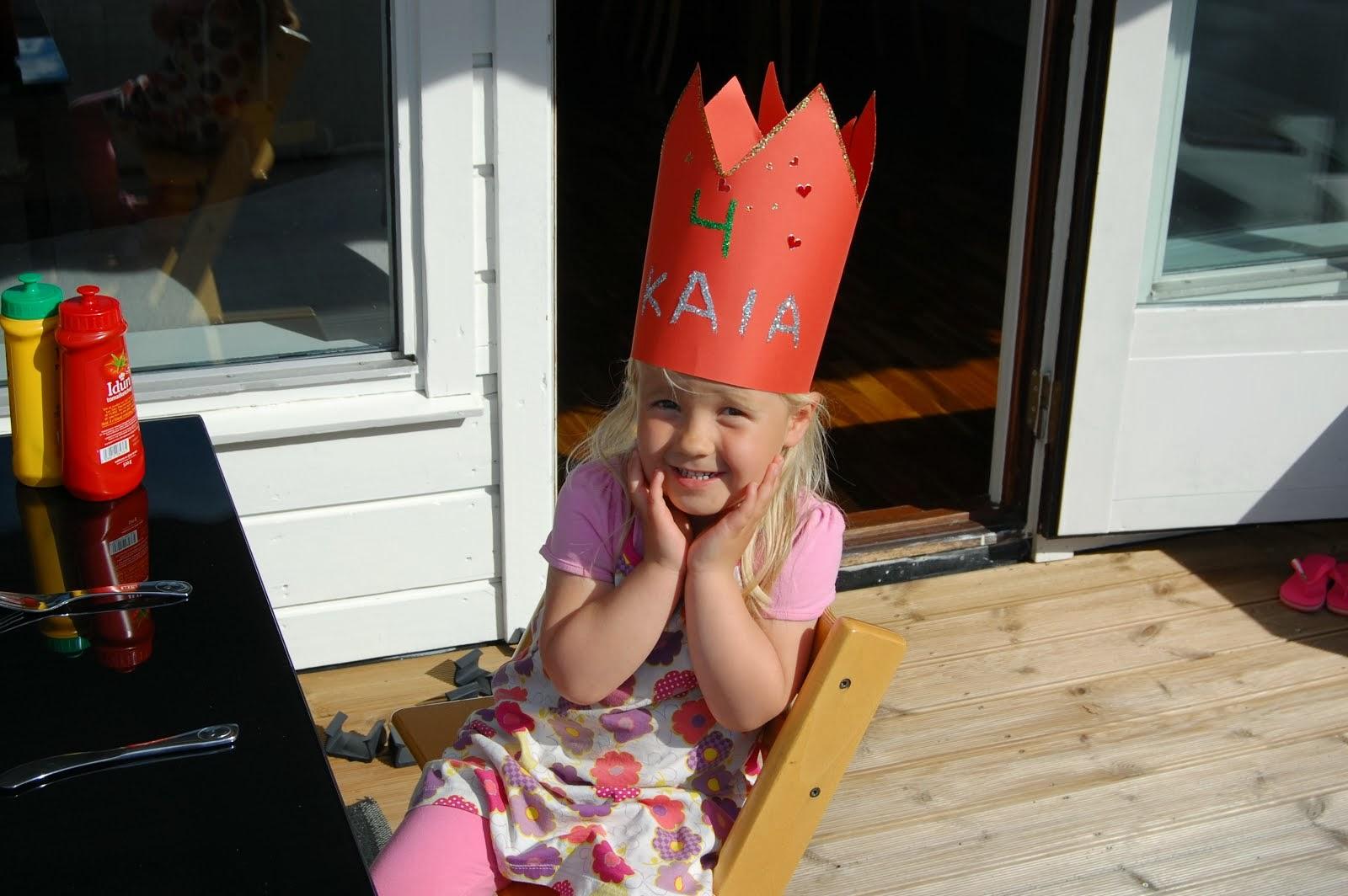 Kaia 4 år