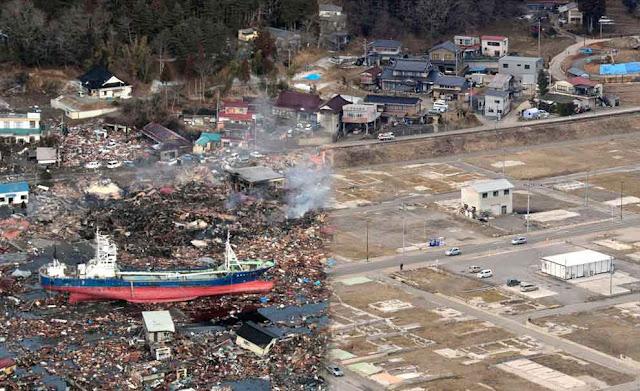 Gempa Jepang 2 Tahun Kemudian: Sebelum dan Sesudah