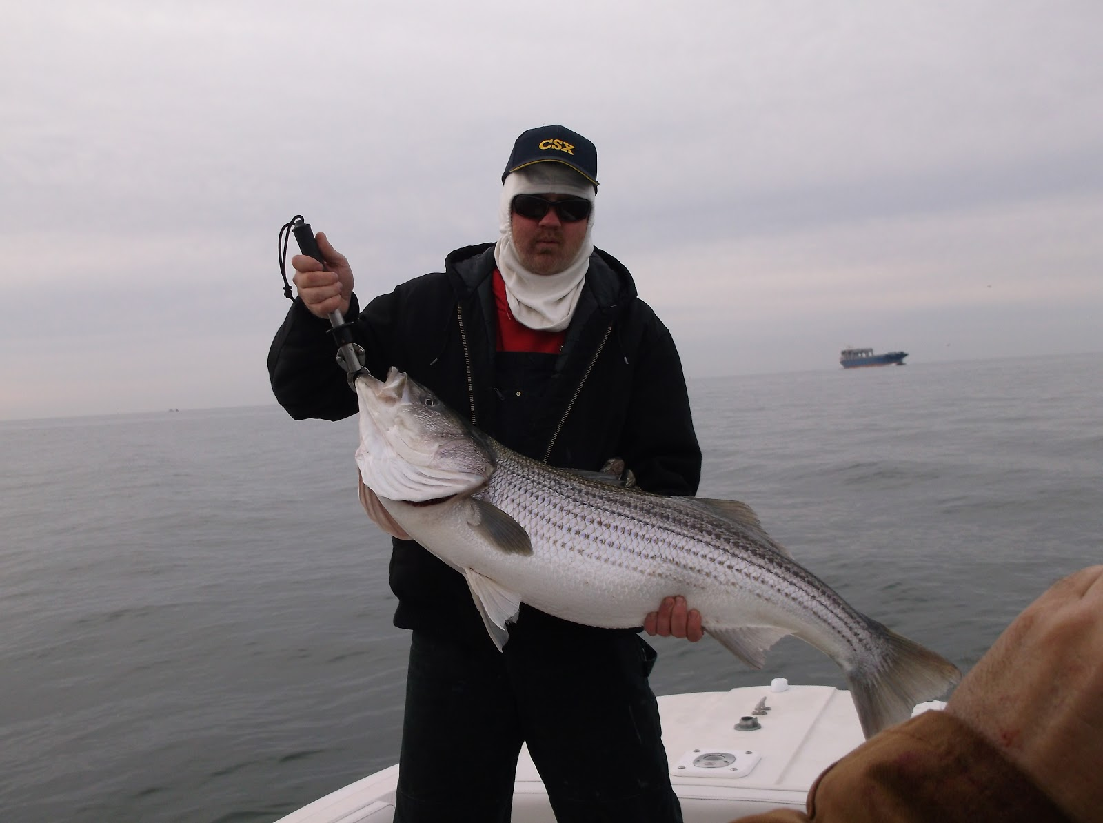 Degs fishing report giant stripers for Pamlico sound fishing report