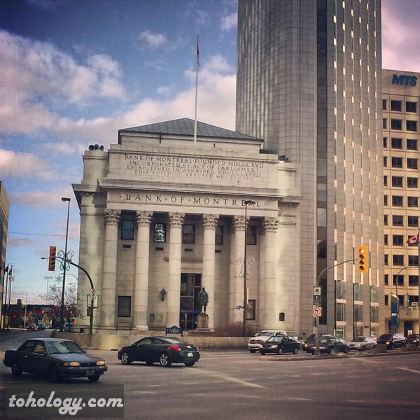 Bank of Montreal in Winnipeg Canada