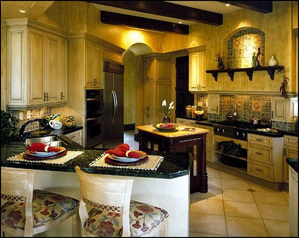 kitchens rustic style kitchens tuscan country style kitchens