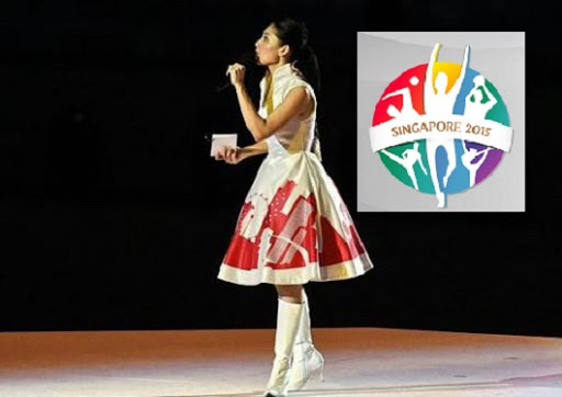 Sharon Au SEA Games 2015
