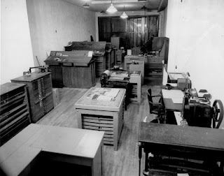 Wells Printing Press Room