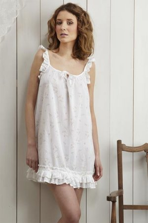 Sheer baby doll nightie night gown a nightgown