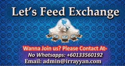 Exchange Feed Group (EFG)
