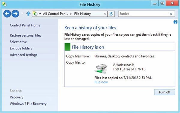 Safest Way To Back Up And Restore Data In Windows 7 & 8 5