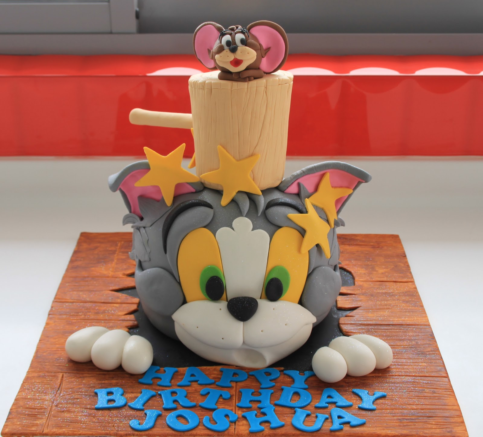 Birthday Cake Images With Cartoon Character : Celebrate with Cake!: Tom and Jerry Cake