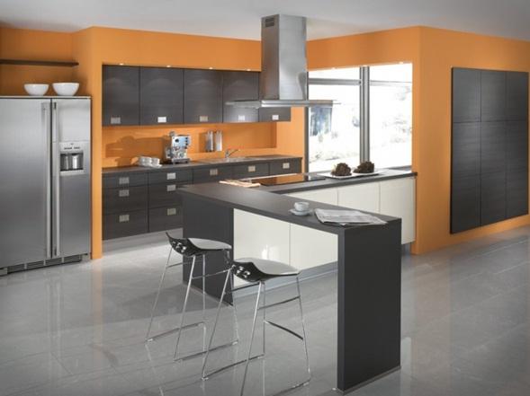 Decora y disena 9 dise os de cocinas con isla modernas - Cocinas islas modernas ...