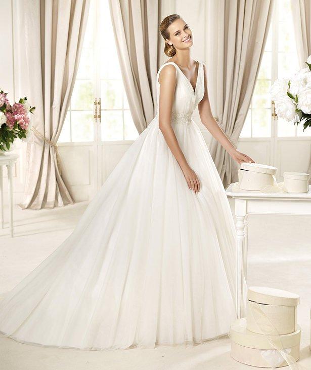 tyg till bröllopsklänning