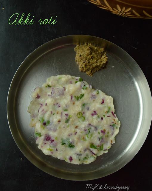 akki roti recipe9