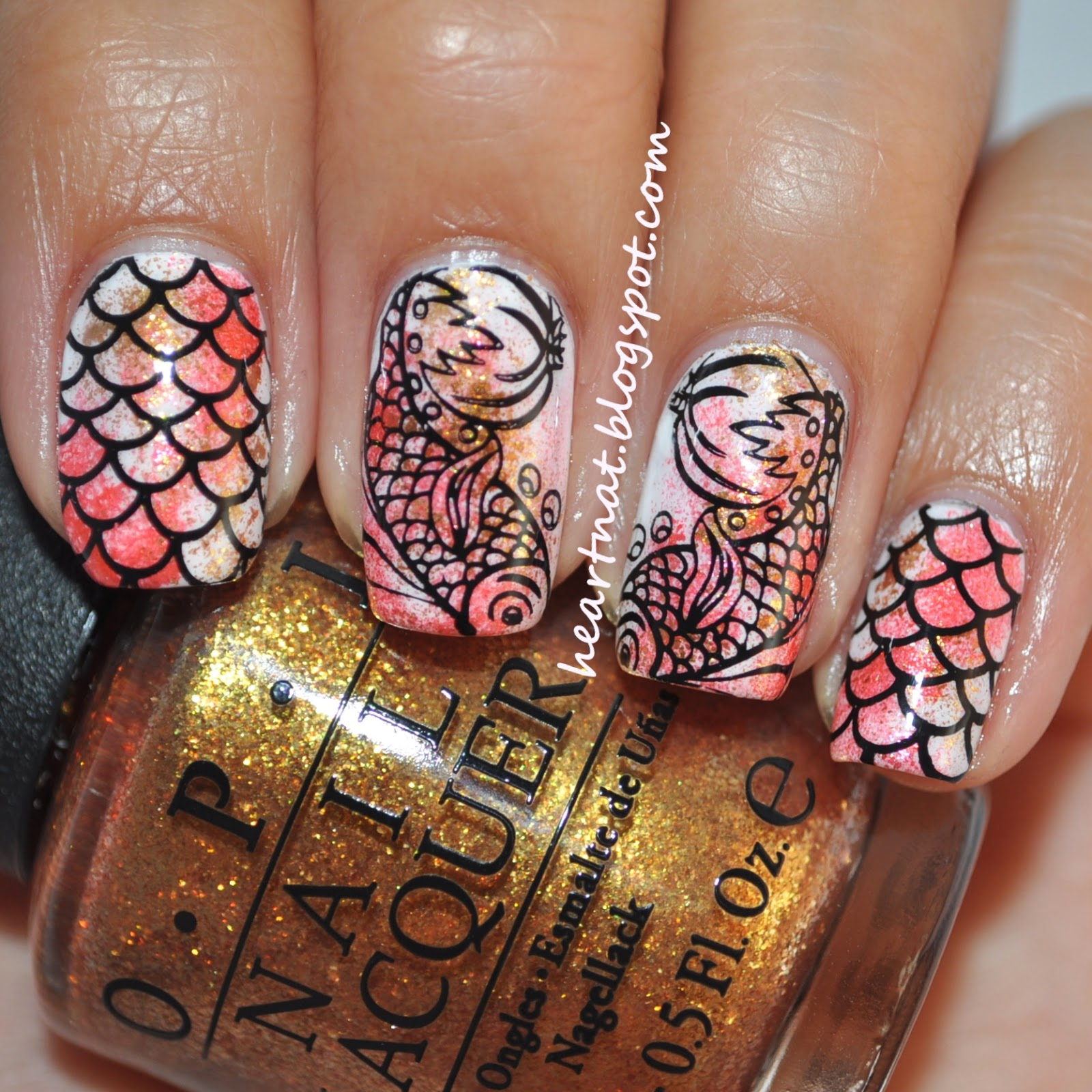 french nail art: Guest Post for Blog Nailed It