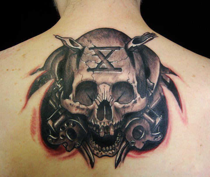 Tattoo by Javier Obregon