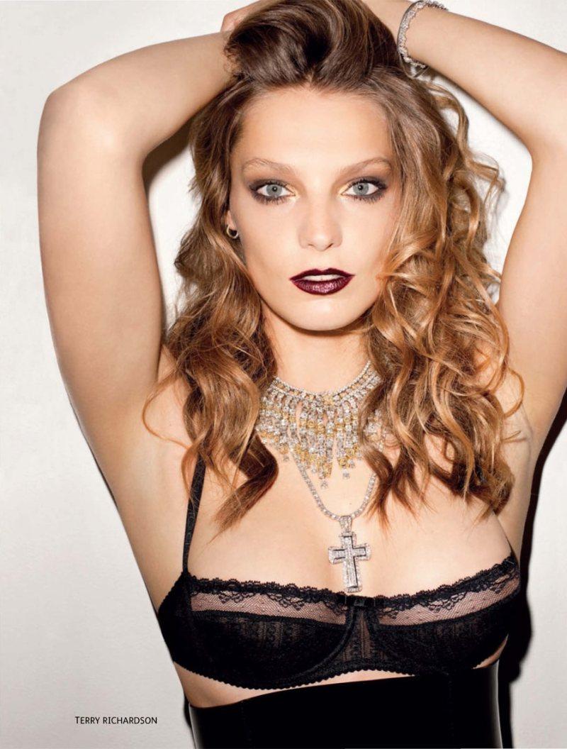 Daria Werbowy Height Miss Fashionmix Daria Werbowy