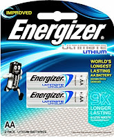 Buy Energizer Lithium Battery Ultimate L91BP2 Rs. 199 only at Amazon.