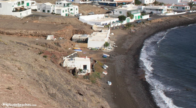 Playa nudista Playa Quemada (Lanzarote)