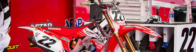 CHAD REEDS 2013 CRF450R