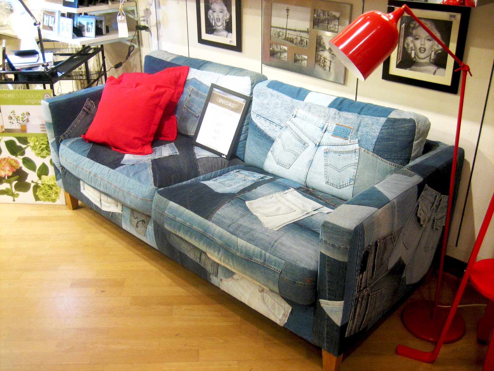 Denim Sofa 7 Sevendays