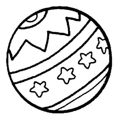 Increíble Bola De Playa Para Colorear Ornamento - Dibujos de ...