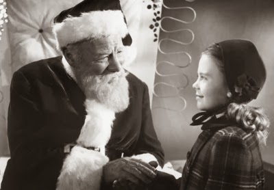 "Edmund Gwenn and Natalie Wood in ""Miracle on 34th Street"""