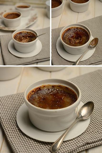 chocolate cream brulee