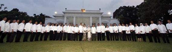 Daftar Nama Menteri Kabinet Kerja Presiden Jokowi 2014-2019