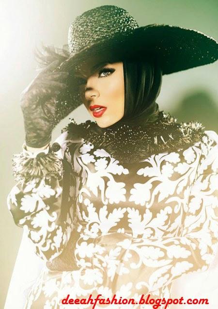 Jilbab ala Dewi Sandra Elegant Style