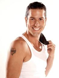 Gregorio Pernía con una gran sonrisa
