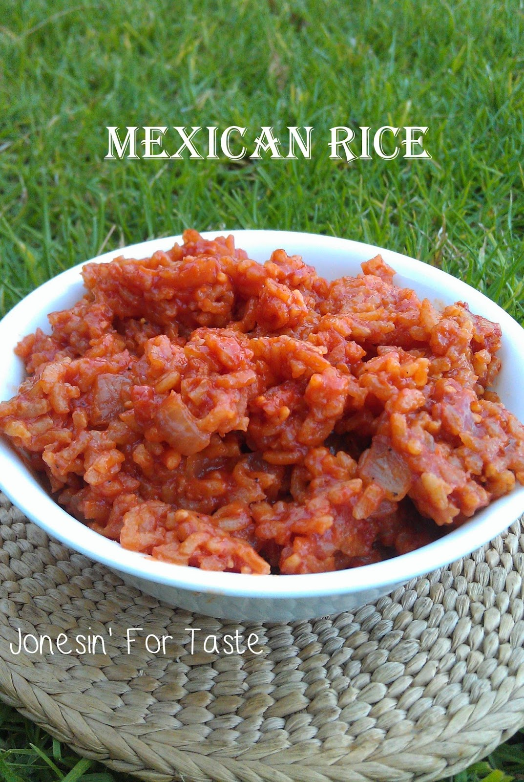 Easy homemade Mexican Rice using basic pantry ingredients