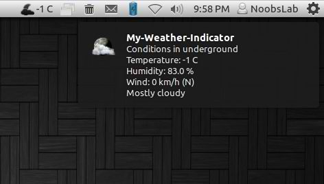 weather indicator