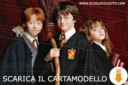 Harry Potter download cartamodello gratis