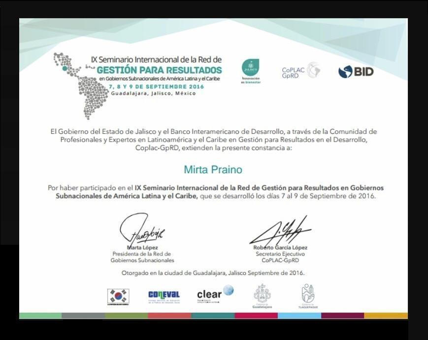-PARTICIPAMOS IX Seminario Internacional en Gobiernos Subnacionales de  América Latina y el Caribe