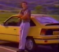 Campanha do Kadett GS apresentado em 1991: modelo esportivo de um grande sucesso da Chevrolet.