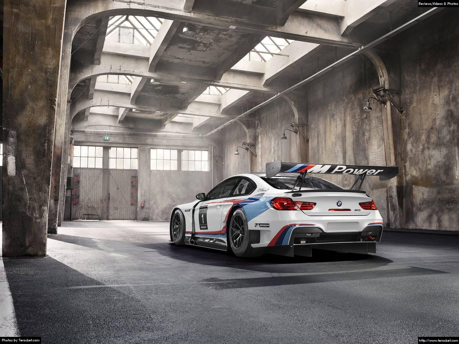 Hình ảnh xe ô tô BMW M6 GT3 2016 & nội ngoại thất
