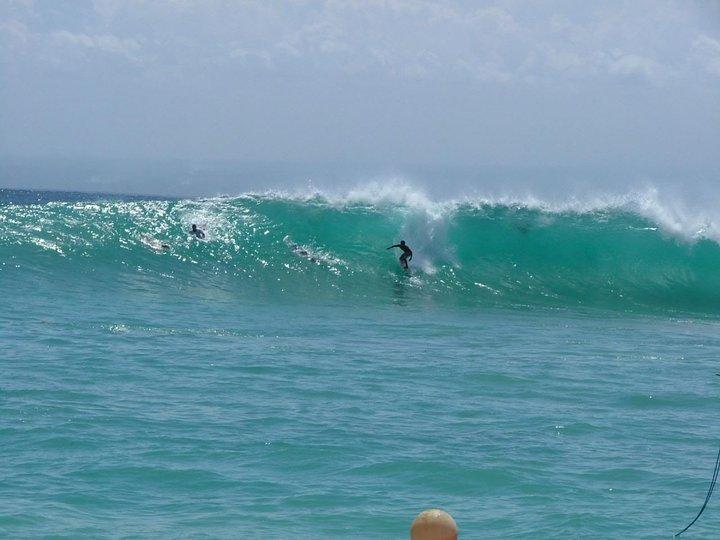 Lembongan waves