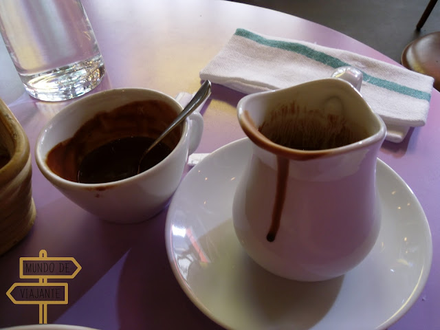Chocolate quente de Paris