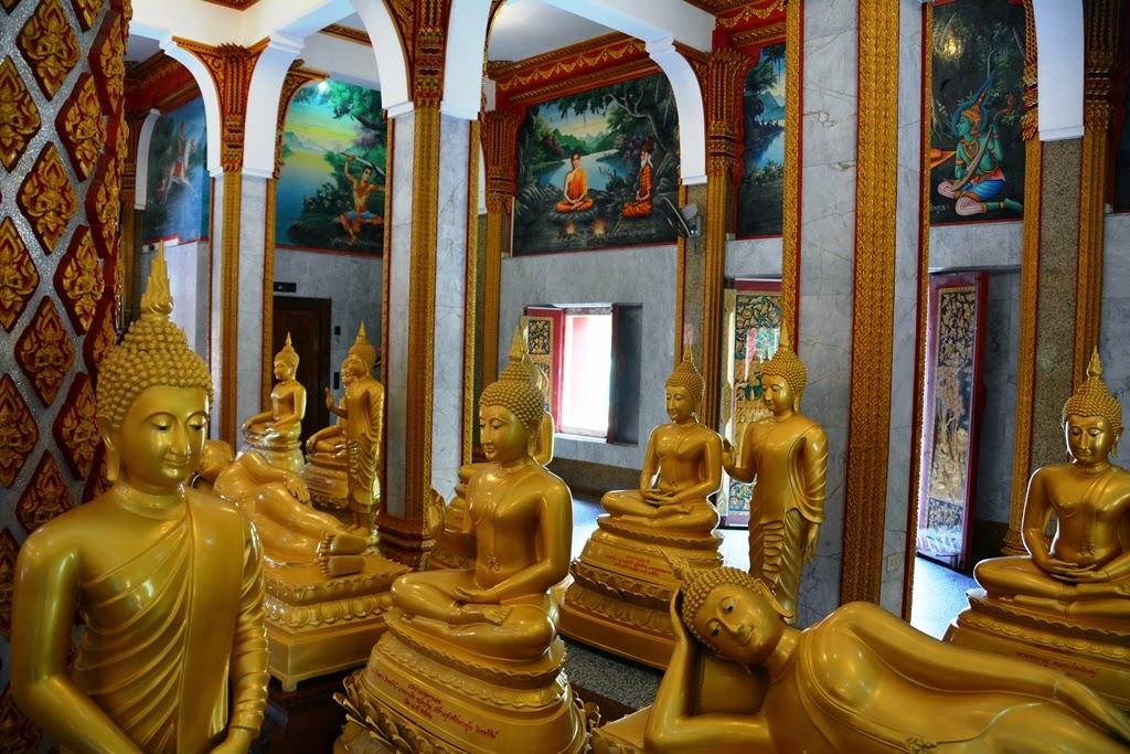 Wat Chalong Temple Phuket buddha
