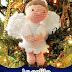Pap Amigurumi: Angelito delicadísimo para el arbolito :)