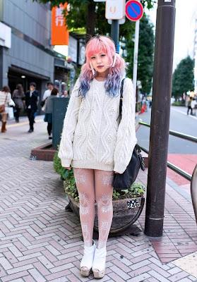 японская молодежная уличная мода