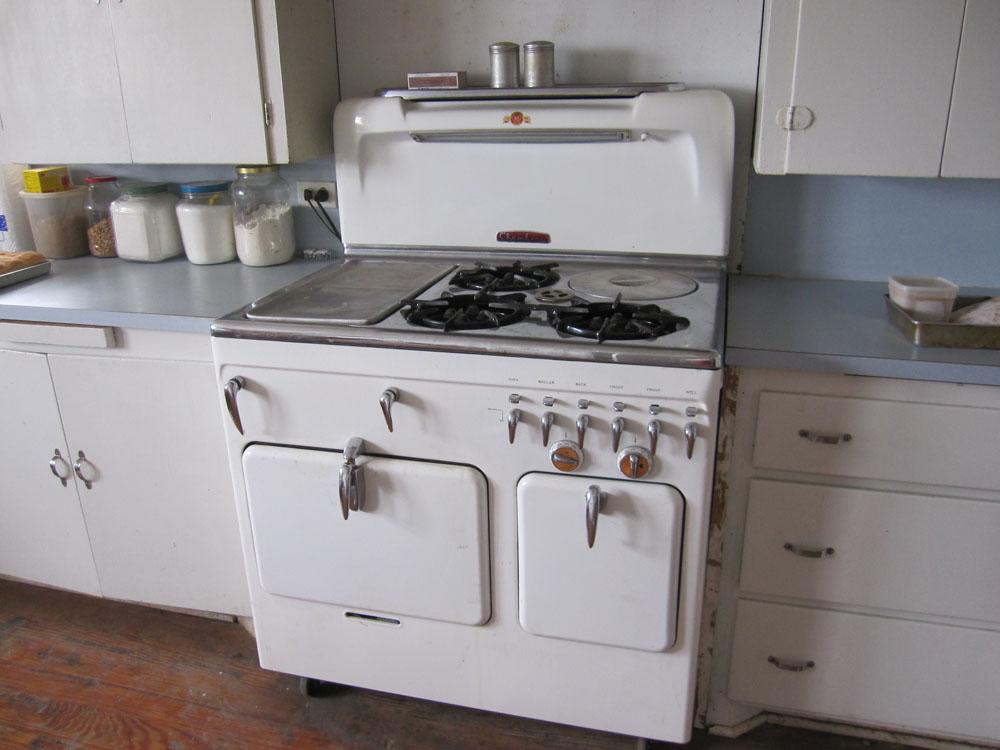 Ruud stove wood water hot