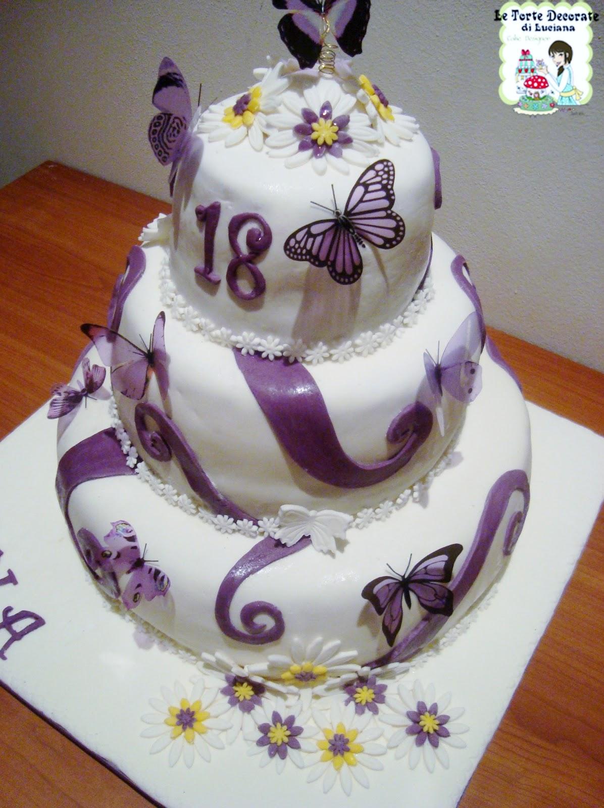 Nice torte a tre piani per 18 anni kb69 pineglen for Torte per 18 anni maschile