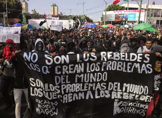 México se levanta contra el narcoestado