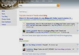 Twitter Bing Partnership
